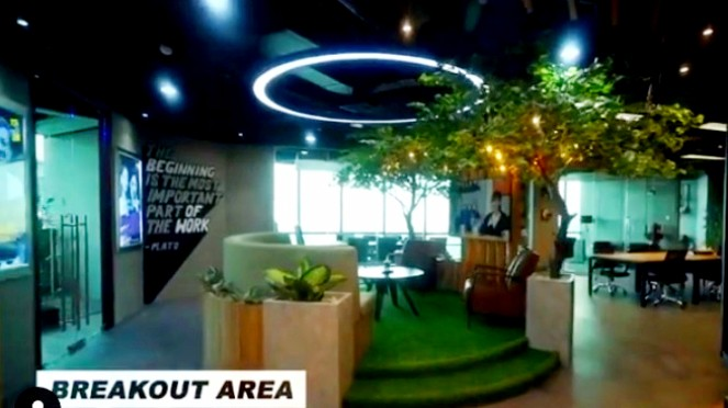 Kantor baru Production House milik Andre Taulany