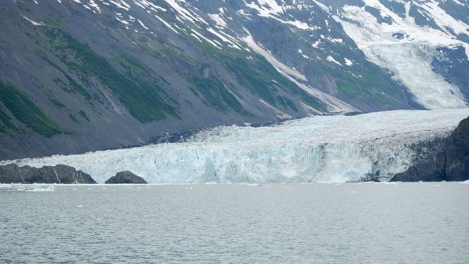 Barry Arm, Prince William Sound di Alaska, AS.