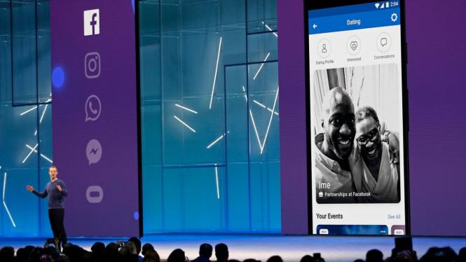 Peluncuran aplikasi Dating by Facebook