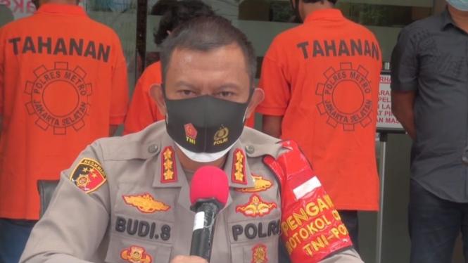 Kapolres Metro Jakarta Selatan Kombes Budi Sartono