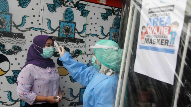 Simulasi Vaksinasi COVID-19 di Depok