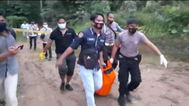 Penemuan mayat wanita di tepi kandang buaya di Berau Kalimantan Timur