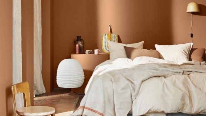 ilustrasi kamar tidur/rumah.