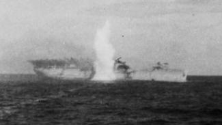 VIVA Militer: Kapal Induk Angkatan Laut Amerika, USS Langley, ditembak torpedo