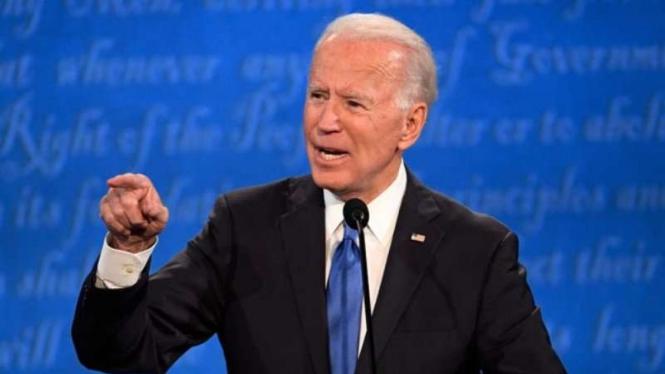 Capres AS Joe Biden dalam sesi debat terakhir Pilpres AS 2020