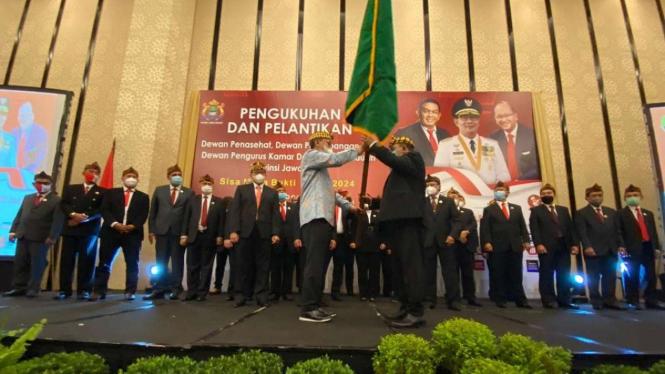Pelantikan Pengurus Kadin Jawa Barat.