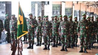 VIVA Militer : KSAD TNI terima laporan kenaikan pangkat 19 Pati TNI AD