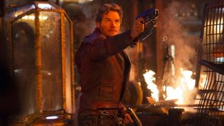 Chris Pratt di Avengers: Infinity War.