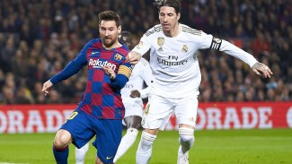 Megabintang Barcelona, Lionel Messi dan Kapten Madrid, Sergio Ramos