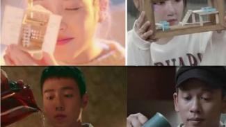 Video musik Via Vallen nyontek artis K-Pop