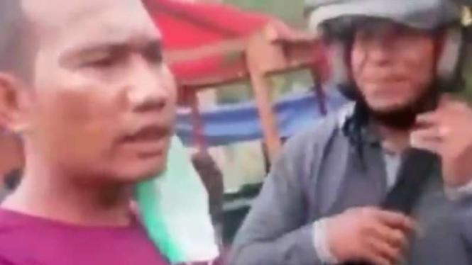 VIVA Militer: Anggota TNI ngamuk motornya mau ditarik 'mata elang'