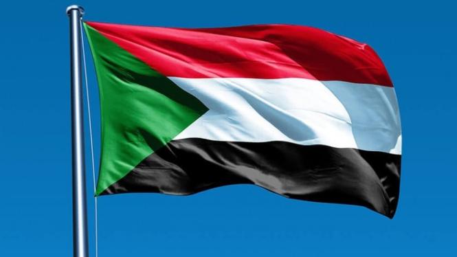 Bendera Sudan.