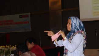 Direktur Libu Perempuan Provinsi Sulteng, Dewi Rana Amir (antara)