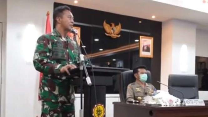 VIVA Militer : KSAD Jenderal TNI Andika Perkasa bertemu dengan Mentan RI