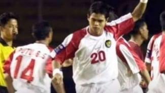 Striker Timnas Indonesia, Bambang Pamungkas di Piala Tiger 2002.