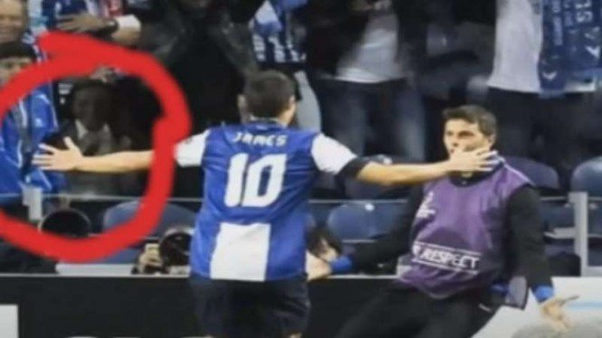 Penampakan di markas FC Porto, Estadio Do Dragao.
