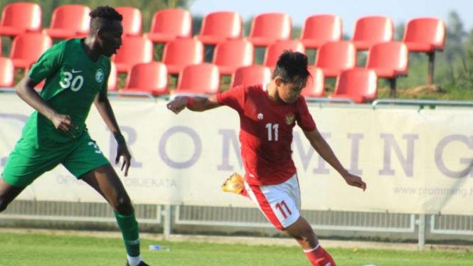 Gelandang Timnas Indonesia U-19, Witan Sulaeman.