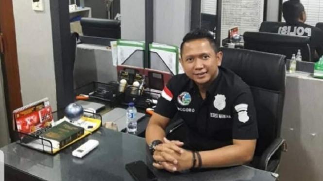 Kanit Reserse Kriminal Polsek Kalideres Jakarta Barat, Iptu Anggoro Winardi