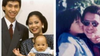 Foto kenangan keluarga Kevin Aprilio