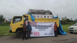 KPU Yalimo distrubusi logistik pemilu 2020 (antara)