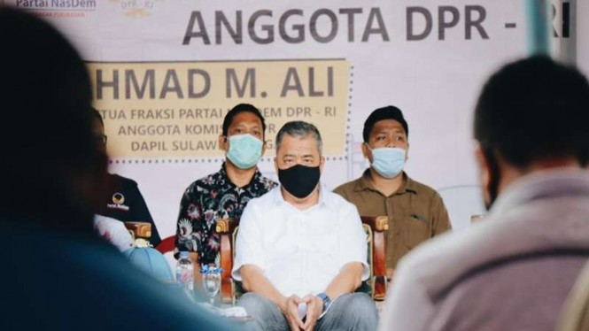 Anggota DPR RI Dapil Sulawesi Tengah, Ahmad M Ali
