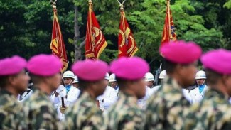 VIVA Militer : Prajurit Marinir TNI AL (Ilustrasi)