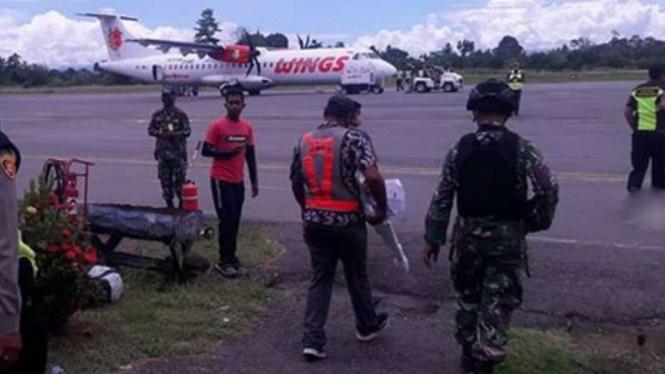 VIVA Militer: Penangkapan di Bandara Nabire.