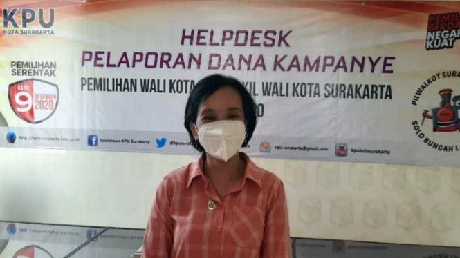 Ketua KPU Kota Surakarta Nurul Sutarti