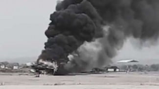 VIVA Militer : Helikopter Mi-17 milik Puspenerbad TNI jatuh di Kendal, Jateng