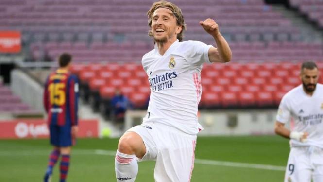 Gelandang Real Madrid, Luka Modric