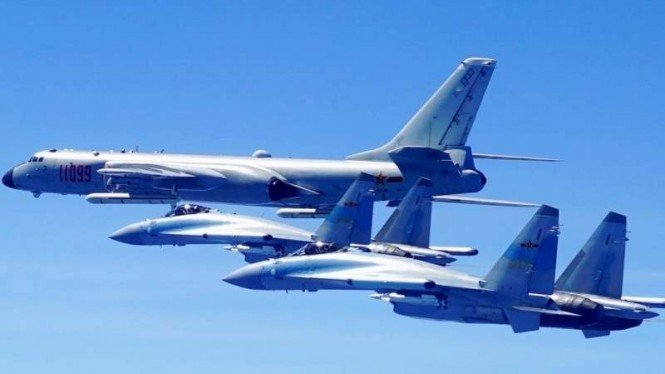 VIVA Militer: Armada laut Angkatan Udara Tentara Pembebasan Rakyat China (PLAAF)