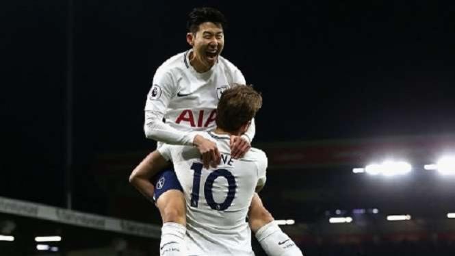 Duet bomber Tottenham Hotspur, Son Heung-min dan Harry Kane