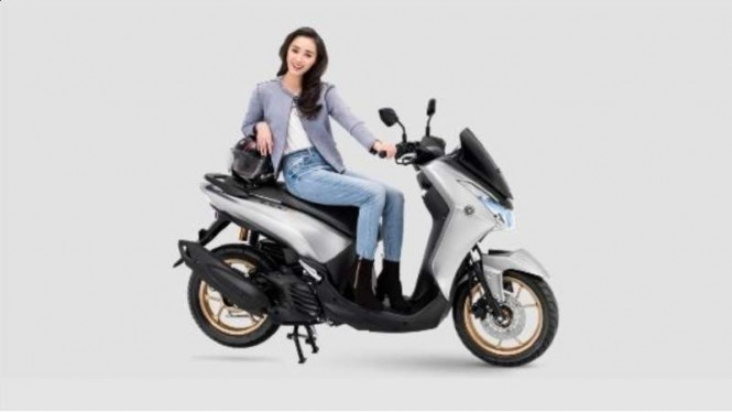 Pilihan warna baru di skuter matik Yamaha Lexi