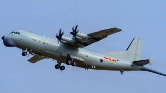 VIVA Militer: Pesawat anti-kapal selam Shaanxi Y-8 Angkatan Udara China (PLAAF)