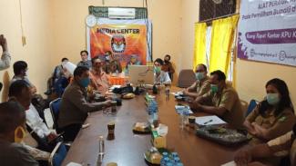 Rakor KPU Bengkayang Siapkan Pelaksanaan Debat Kandidat Pilkada 2020 (antara)