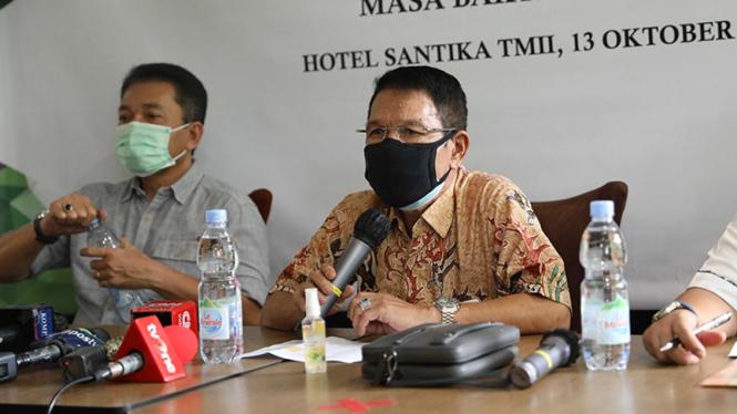 Tim Penjaringan Bakal Calon Ketua Umum PP PBSI, Edi Sukarno.