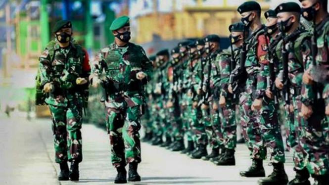 VIVA Militer: Yonif Raider 700/Wira Yudha Cakti.