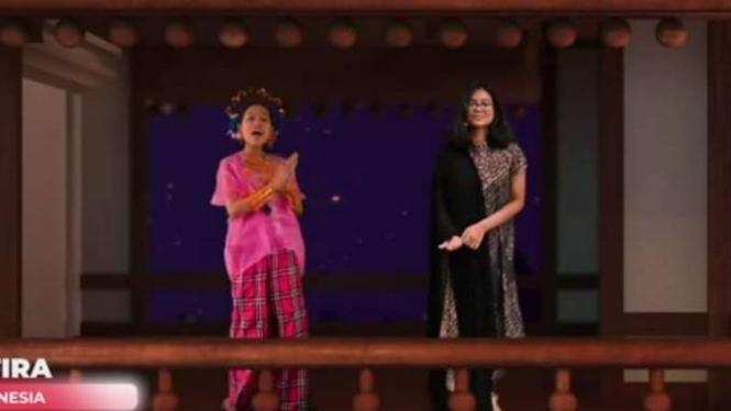 Dua orang siswa Indonesia menjadi wakil dalam ajang International Language and Culture Festival (IFLC) ke-18, yang digelar secara daring akhir pekan lalu.