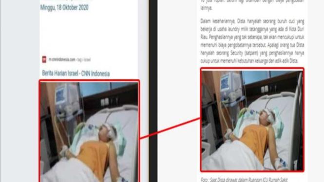 Hoax Abu Janda koma