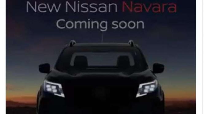 Gambar penggoda mobil pikap Nissan Navara terbaru