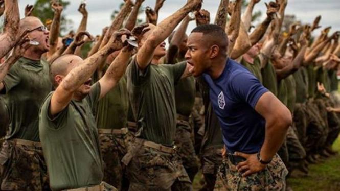 VIVA Militer: Pasukan Marinir Amerika Serikat.