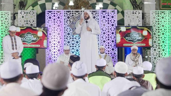 Peringatan Maulid Akbar Nabi Muhammad SAW dimasa Pandemi, Syekh Ali Jaber