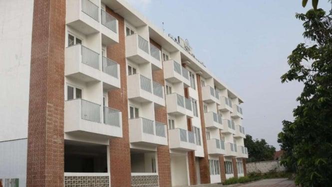 Apartemen UResort yang disiapkan untuk mahasiswa dan dibangun dekat kampus IPB.