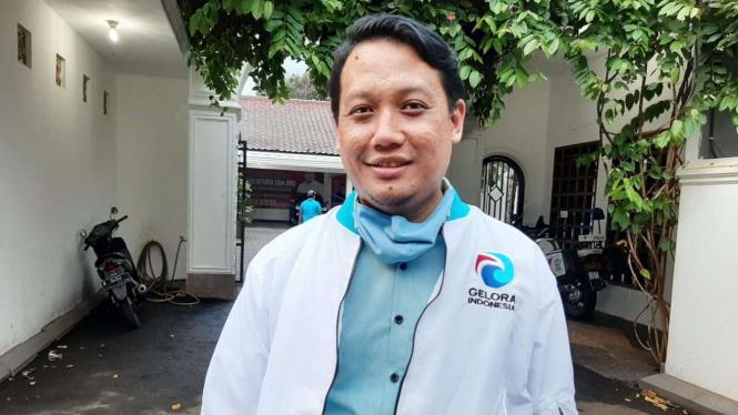 Ketua Bidang Teritorial Gelora Depok Bramastyo Bontas
