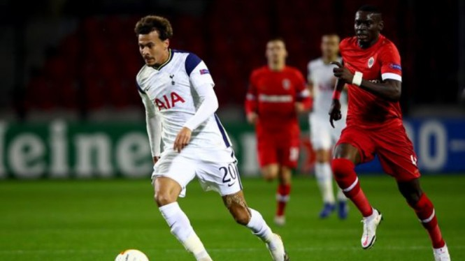 Gelandang serang Tottenham Hotspur, Dele Alli