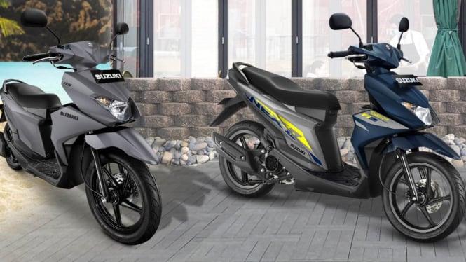 Motor Suzuki Nex II warna baru