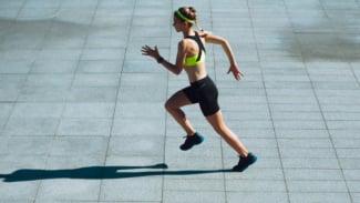 Ilustrasi olahraga/lari.