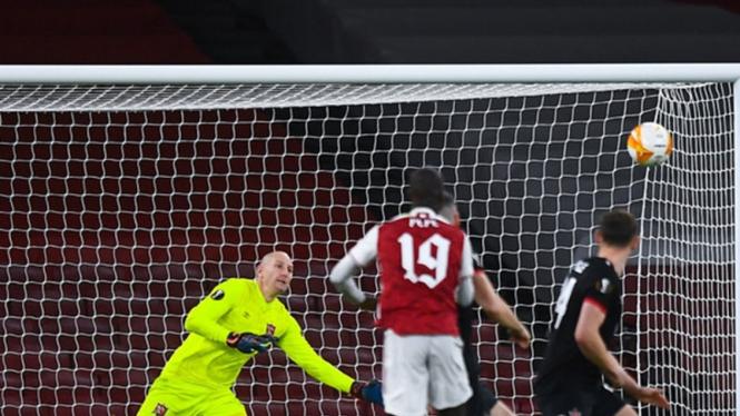 Pertandingan Arsenal vs Dundalk
