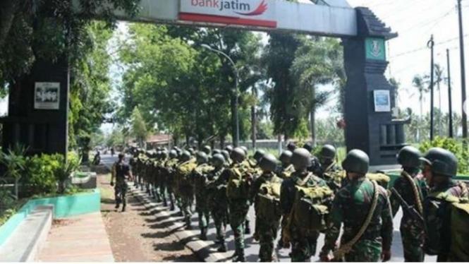 VIVA Militer : Tradisi penyambutan personil baru di Satuan TNI AD