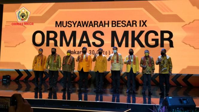 Mubes IX ormas Golkar MKGR